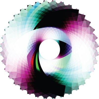 Vinilo Resumen de diseño geométrico. vector de fondo