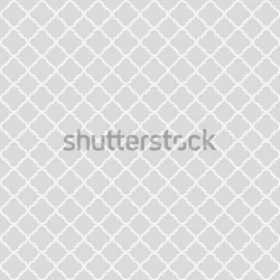Vinilo Resumen de patrones geométricos sin fisuras. Fondo clásico Ilustración vectorial
