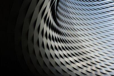 Vinilo Resumen estructura metálica con el patrón de fondo repetitivo