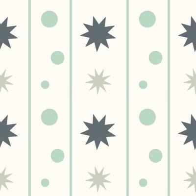 Vinilo Resumen geométrica sin fisuras patrón de fondo ilustración