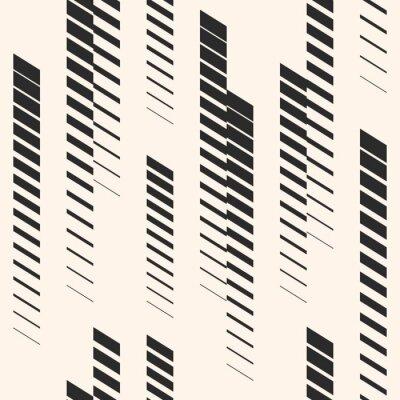 Vinilo Resumen gráfico de patrones sin fisuras con líneas verticales, pistas, rayas de trama de semitonos. Patrón de deportes. Patrón urbano