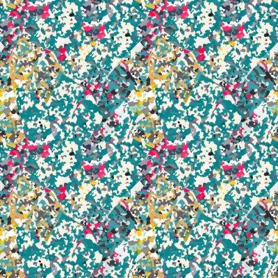 Vinilo Resumen patrón transparente con ruido de colores