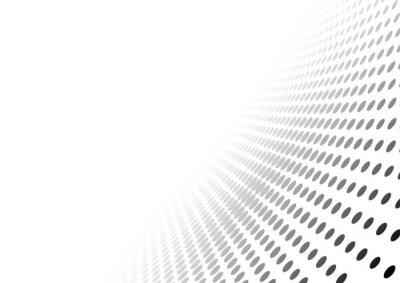 Vinilo Resumen punteado perspectiva de antecedentes - gradiente efecto ilustración, vector