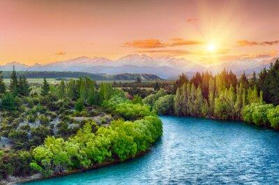 Vinilo Río Clutha