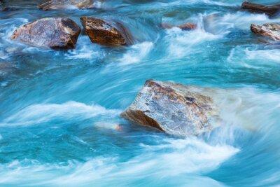 Vinilo Río del glaciar