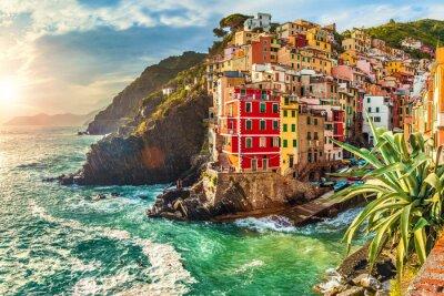 Vinilo Riomaggiore, Cinque Terre, Italia