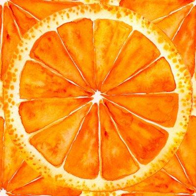 Vinilo Rodajas de naranja o pomelo