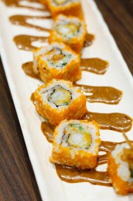 Vinilo Rollos de sushi