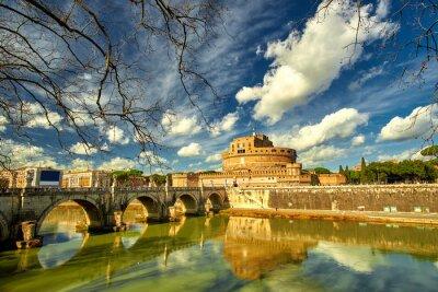 Vinilo Roma - Castel saint Angelo, Italia
