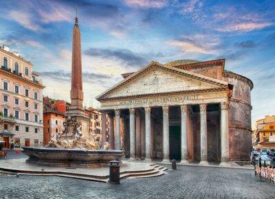 Vinilo Roma - Panteón, nadie