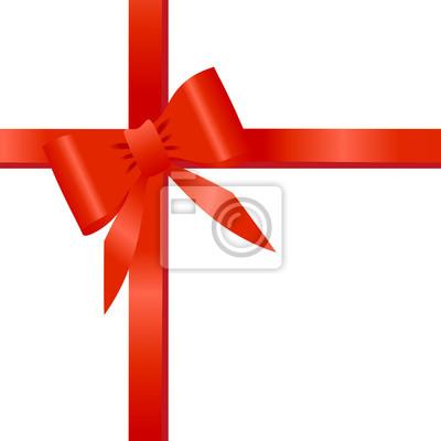 Vinilo Rotes Geschenkband