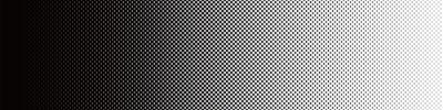 Vinilo Screentone Graphics_Halftone Gradation_Black