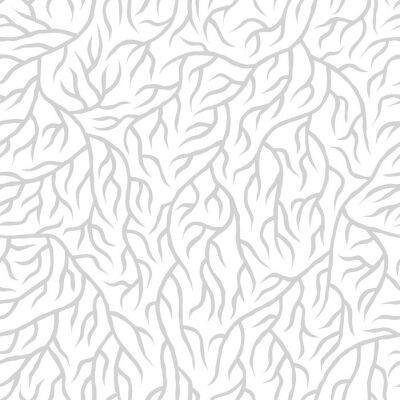 Vinilo Seamless nature pattern