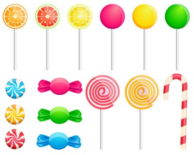 Vinilo Set candies