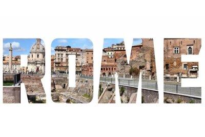 Vinilo signo de Roma