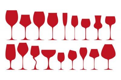 Vinilo Siluetas de los vidrios