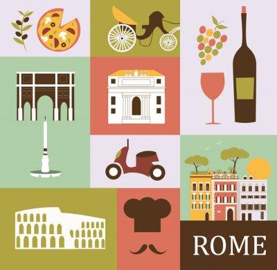 Vinilo Símbolo de Roma. Vector