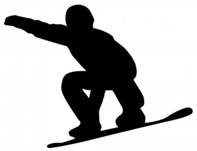 Vinilo Snowboarder