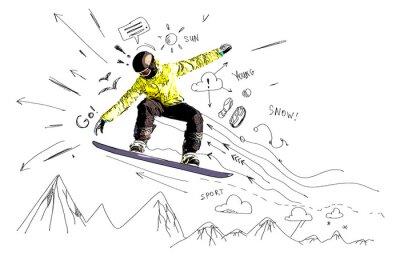 Vinilo Snowboarding