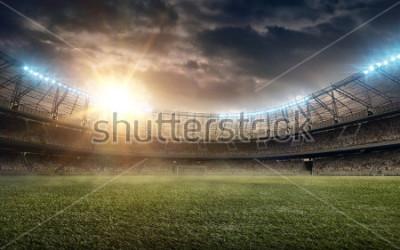 Vinilo soccer field