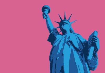Vinilo Statue de la liberté - Nueva York - simbólico, américain - décoration - déco - aficionado