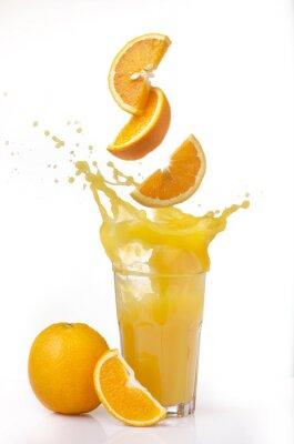 Vinilo succo d'arancia splash