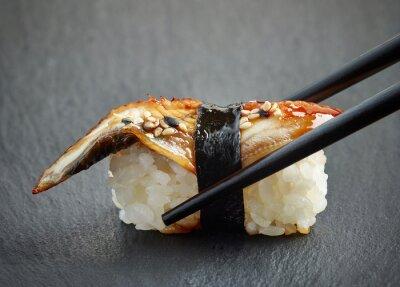 Vinilo Sushi de anguila