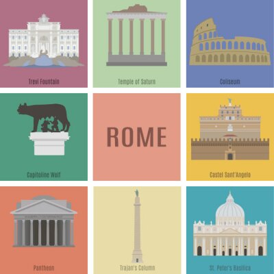 Vinilo Symbols of Rome