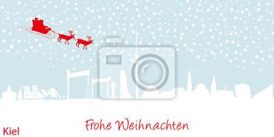 Vinilo Tarjeta de Navidad de Kiel