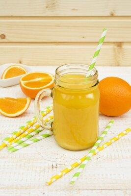 Vinilo Tarro de jugo de naranja