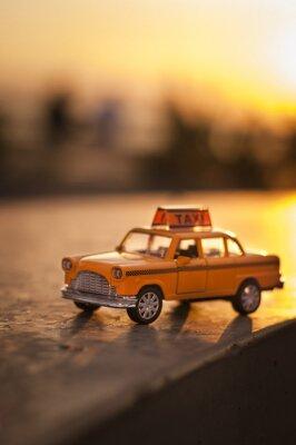 Vinilo Taxi amarillo