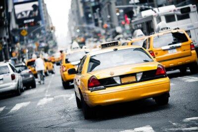 Vinilo Taxi de Nueva York