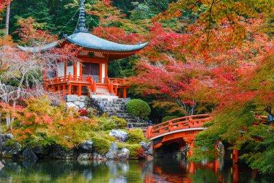 Vinilo Templo Daigoji en Kyoto