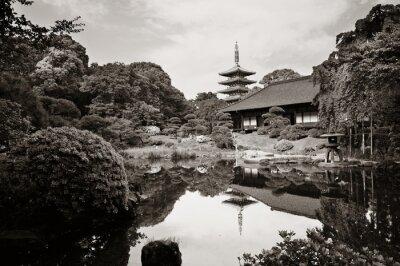 Vinilo Templo de Sensoji
