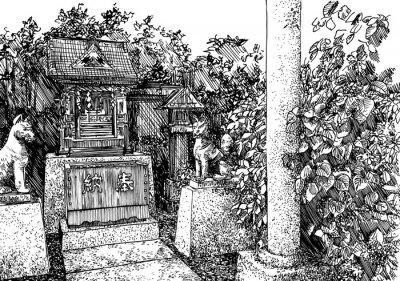Vinilo templo j