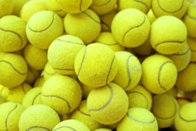 Vinilo tennis ball