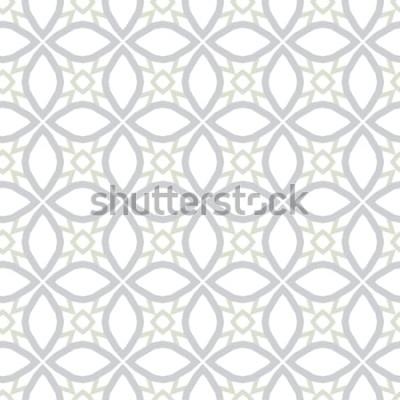 Vinilo Textura de fondo abstracto en estilo ornamental geométrico. Diseño sin costuras