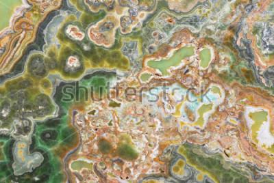 Vinilo Textura de mármol natural de ónix o textura para patrón de fondo con alta resolución
