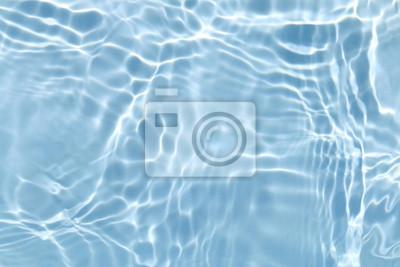Vinilo Textura de ola de agua azul de fondo