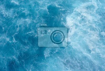 Vinilo Textura del agua de mar