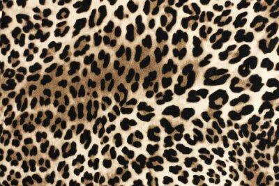 Vinilo Textura fablic de leopardo. Fondo textil de moda.
