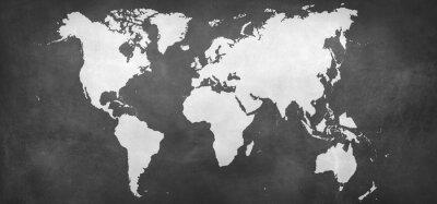 Vinilo Tierra, mapa, Plano de fondo