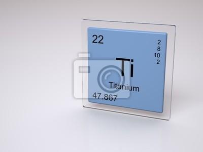 Titanio smbolo ti elemento qumico de la tabla peridica vinilo titanio smbolo ti elemento qumico de la tabla peridica urtaz Choice Image