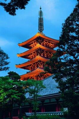 Vinilo Tokio templo
