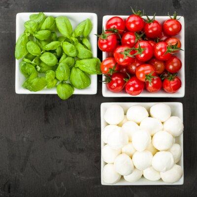Vinilo Tomate Mozzarella Basilio