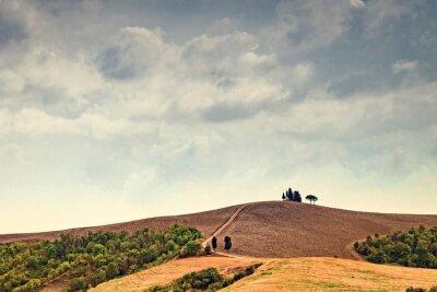 Vinilo Tormenta eléctrica sobre la Toscana