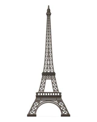 Vinilo Torre Eiffel aislada