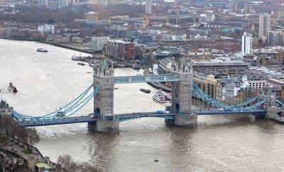 Vinilo Tower Bridge en el río Támesis en Londres