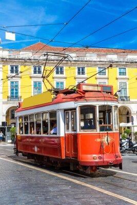 Vinilo Tranvía de Lisboa