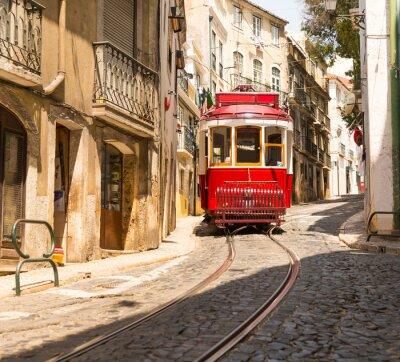 Vinilo Tranvía en la calle